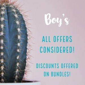 Other - Boys Clothing & Accessories